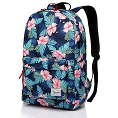 School backpack,Fashion Korean Floral Middle School Teen Girls Backpack  fits Laptop by Vaschy 9f6f9522c8