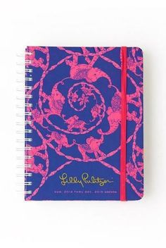 Lilly Pulitzer Large Agenda in Loopy