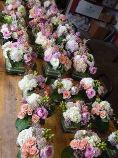 Floral Arrangement for Wedding! Floral Centerpieces, Wedding Centerpieces, Floral Arrangements, Country Wedding Bouquets, Floral Wedding, Wedding Flowers, Wedding Top Table, Engagement Party Planning, Burlap Wedding Decorations