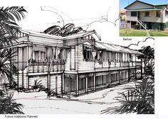 Planned Renovations Greenslopes   dion seminara architecture