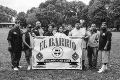 #ElBarrioCC all together at the #SouthSideCruisers picnic. #Chicago. (2008)
