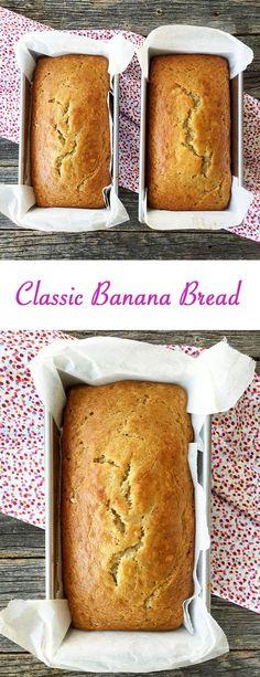 A Classic Banana Bread Recipe