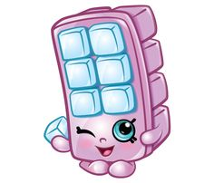 blocky ice cube