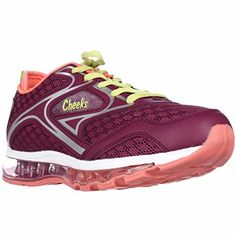 Cheeks Air Trac Trainer Athletic Shoes  Raspberry 8 M US ** Details can be found by clicking on the image.