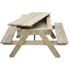 The Lucas sandpit table is a traditional style picnic table with storage. A versatile piece of outdoor furniture for home or pub garden spaces. Garden Picnic Bench, Diy Picnic Table, Kids Picnic, Childrens Garden Furniture, Modern Outdoor Furniture, Kids Furniture, Sandpit Table, Sand Pits For Kids, Picnic Activities