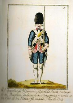 Reales Guardias de Infantería Española 1791 Granadero