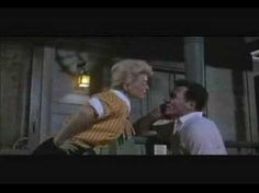 """""""There Once Was a Man,"""" The Pajama Game, 1957 movie, John Raitt and Doris Day."""