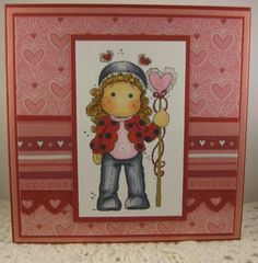 Ladybug Tilda. Raising the Ceiling, Magnolia stamps