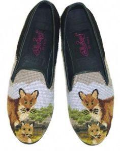 fox slipper shoes.