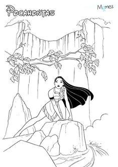 Ausmalbild mit einem ballkleid coloring 5 pinterest - Coloriage princesse jasmine ...