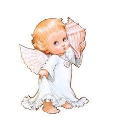 $3.00 Angel http://catalog.obitel-minsk.com/idm-38-13-magnit-angel.html?&___store=default #magnets #fridge #wood #handmade #made by hand #hand-painted #angel #girl #shell
