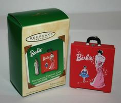 Barbie travel case ornament