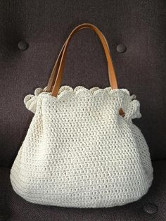 crochet bag 2 by mocolena, via Flickr