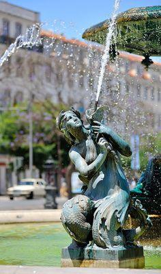Fountain in #Lisbon #Portugal