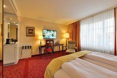 Deluxe Zimmer - ab Dezember mit 121 cm LED TV (48 Zoll) und Premium Bett von Trema Paris