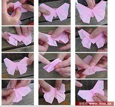 Origami By Deuzaaa Borboletas