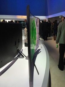 #CES2015: Samsung's new ultra-high-definition (UHD) televisions made their debut, including the SUHD TV — a new type of TV that uses advanced 4k display technology with 8.29 million pixels.
