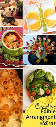 Creative Edible Arrangment Ideas!