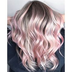 Inspiring Pastel Hair Color Ideas – My hair and beauty Pink Blonde Hair, Pastel Pink Hair, Light Pink Hair, Pink Ombre Hair, Overtone Hair, Hair Dye Colors, Hair Color Dark, Hair Color Balayage, Pink Hair Highlights