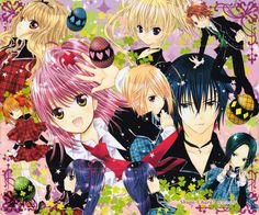 An awesome Shugo Chara desktop. There is another one right here in case any of you love Amuto. Shugo Chara Desktop of Awesome Shugo Chara, Vocaloid, Peach Pit, Hokusai, Tokyo Mew Mew, Anime Episodes, Manga Games, Comic Artist, Magical Girl