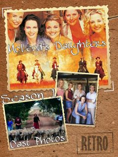 McLeod's Daughters Wallpaper by Elizabeth McFarland- Season 1 Cast Photos Mcleod's Daughters, Tv Land, Cover Pages, Season 1, Movie Tv, Tv Series, Tv Shows, It Cast, Childhood