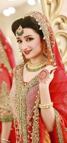 Indian Bridal Fashion, Pakistani Bridal Wear, Pakistani Wedding Dresses, Pakistan Bride, Pakistan Wedding, Bridal Outfits, Bridal Dresses, Desi Bride, Asian Bridal