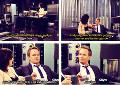 Lol oh Barney Tv Show Quotes, Movie Quotes, Comic Movies, Movie Tv, I Meet You, Told You So, Barney And Robin, How Met Your Mother, Robin Scherbatsky