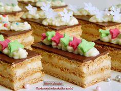 Karácsonyi mézeskalács szelet | Bibimoni Receptjei