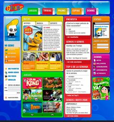 Saltamonte   Proyecto: Genios main site - Cliente: Clarin Global