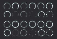 FREE DOWNLOAD Vector Indicator Rings