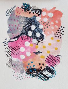 Watercolor Pattern, Abstract Watercolor, Abstract Art, Watercolour, Art Journal Inspiration, Painting Inspiration, Art Inspo, Illustrations, Illustration Art