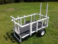 how to build a beach cart out of pvc - Google Search