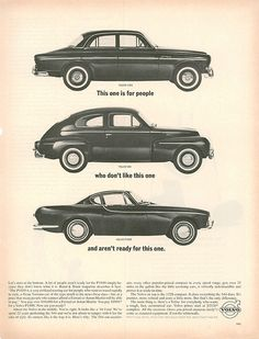 Love this Volvo ad.