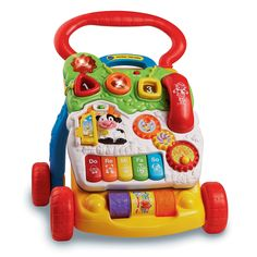 Buy Vtech Disney First Step Baby Walker at lowest price online in India.It has strong & sturdy design that can support the baby's first step. Activity Toys, Activity Centers, Activities, Toddler Toys, Baby Toys, Infant Toddler, Girl Toddler, Baby Baby, Vtech Baby