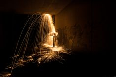Pouring Rain Light Paintings by Simon Berger