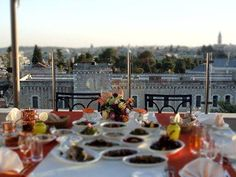 Panoramic view cherished from our roof top terrace #WhereToEatInJerusalem