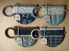 Blue TeaCup pouches 50-53   Flickr - Photo Sharing!