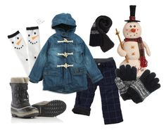 """""""Boys Outfit - Snowman Winter Outfit"""" by bitzkidsnyc on Polyvore featuring Aéropostale and SOREL"""
