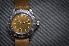 FOUND: A (Tropical) Tudor Submariner Issued To The WWII Battleship USS  Nereus, And Engraved As Such