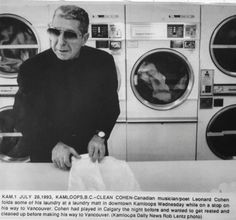 A LAUNDROMAT on Seymour Street was visited many years ago — maybe 25 or so — by a man who could have been anyone with some dirty socks and underwear that needed washing. He was an entertainer, pass…