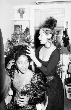 Phylicia & Debbie, 1988.