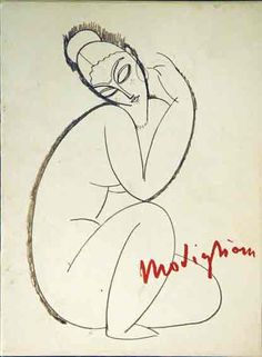 modigliani drawings | The Unknown Modigliani Drawings from the collection of Paul Alexandre ...