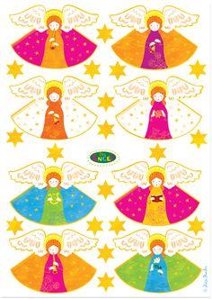Christmas Diy, Christmas Decorations, Christmas Ornaments, Bible Story Crafts, Printable Labels, Printables, Angel Crafts, Crafts For Kids To Make, Grafik Design