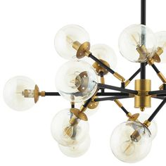 Modway Sparkle Amber Glass And Antique Brass 18 Lights Mid-Century Pendant Chandelier Entryway Chandelier, Industrial Chandelier, Linear Chandelier, Black Chandelier, Pendant Chandelier, Ceiling Pendant, Pendant Lighting, Ceiling Lights, Entryway Lighting