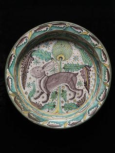 1450 Florence, tin-glazed earthenware Dish | V&A Search the Collections