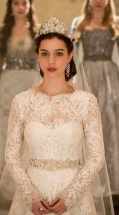 Inspiration robe qu'une princesse va porter pour se marier