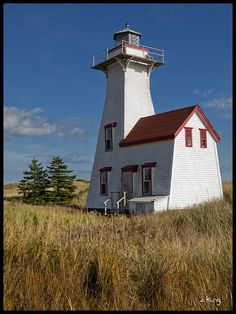 New London Lighthouse, Canada by sking5000, via Flickr