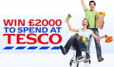 Win of Tesco vouchers. Shopping Vouchers, High Street Brands, Win Prizes, Free Food, Fun, Drink, Beverage, Drinking, Hilarious