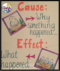 Great blog about Cause and Effect Using Informational Text! Upper Elementary Snapshots