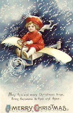 Christmas (vintage) Card